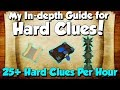 In-Depth Hard Clue Scroll Guide! 27 Clues/hr! [Runescape 3] My Set-up & How I solve each step