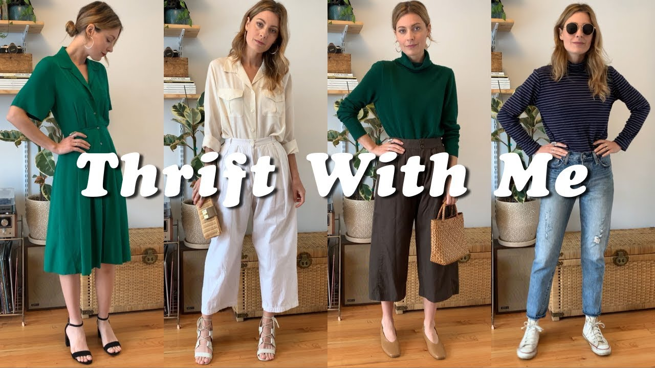 THRIFT WITH ME | Reformation Knock Off | Styling My Thrift Finds || Tiny Acorn