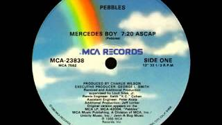 Pebbles Mercedes Boy (Extended Instrumental)
