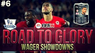 FIFA 14 Ultimate Team | ROAD TO GLORY WAGER MATCHES BPL | IF CAULKER! #6
