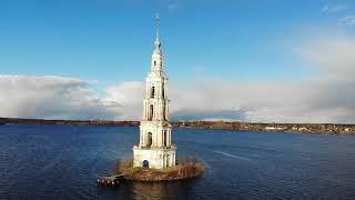 RUSSIA FROM ABOVE - Ростов, Кострома, Ярославль, Калязин, Приозерск, Приморск, Выборг. 4K. Drone