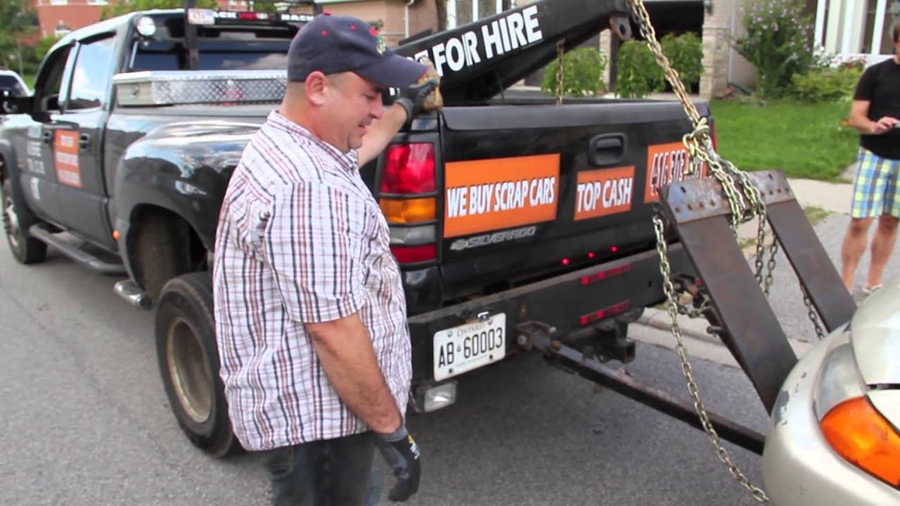Markham Scrap Towing/Removal Cash 4 Car - YouTube