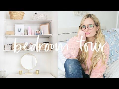 Bedroom Tour 2018  Home Tour Series Hermione Chantal
