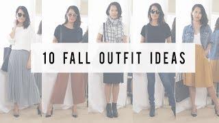 Fall Minimalist Outfit Ideas 2017 | ANN LE