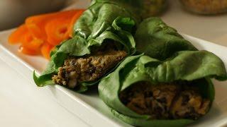 Vegan Burger And Burrito Recipe