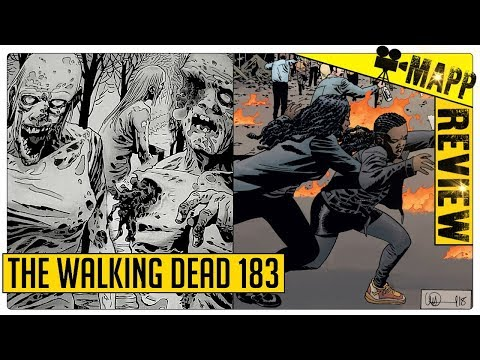 THE WALKING DEAD 183 COMIC REVIEW