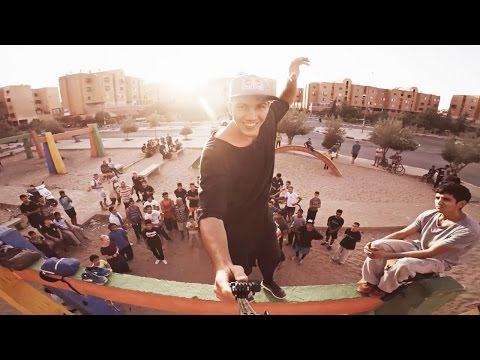 FREERUNNING the streets of MARRAKECH