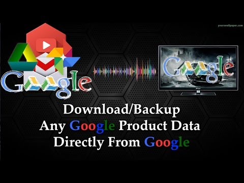 Download All Google Data - Download All/Single Google Product Data At Once  videos*photos*Gmail etc 