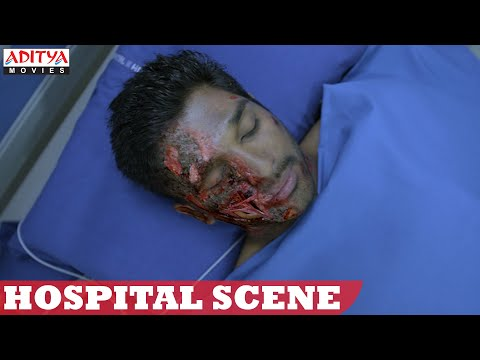 Yevadu Movie || Allu Arjun Hospital Scene...