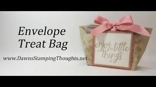 Envelope Treat Bag with Stampin'Up! Envelopes(, 2016-08-16T09:00:01.000Z)