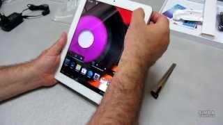 Розпакування планшета Ergo Tab Spark 16 GB White