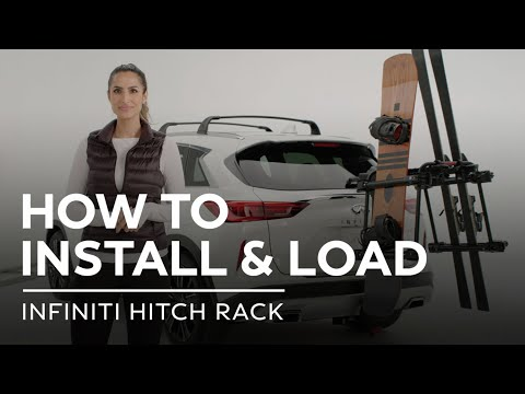 INFINITI Accessories – How to Install and Load an INFINITI Hitch Rack