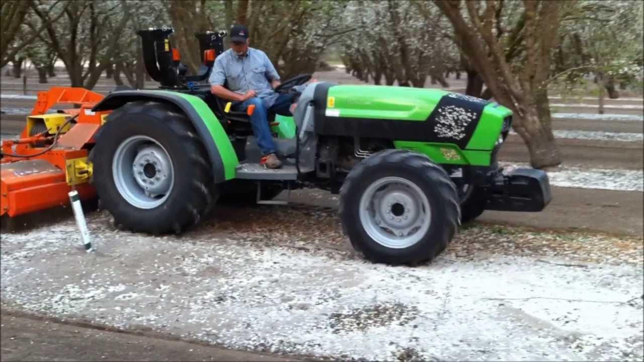 Deutz Fahr 420 Tb Orchard Tractor With Northwest Tiller