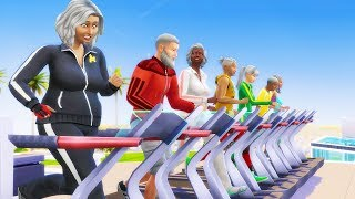 I Made People Run on Treadmills Until They Died - The Sims 4