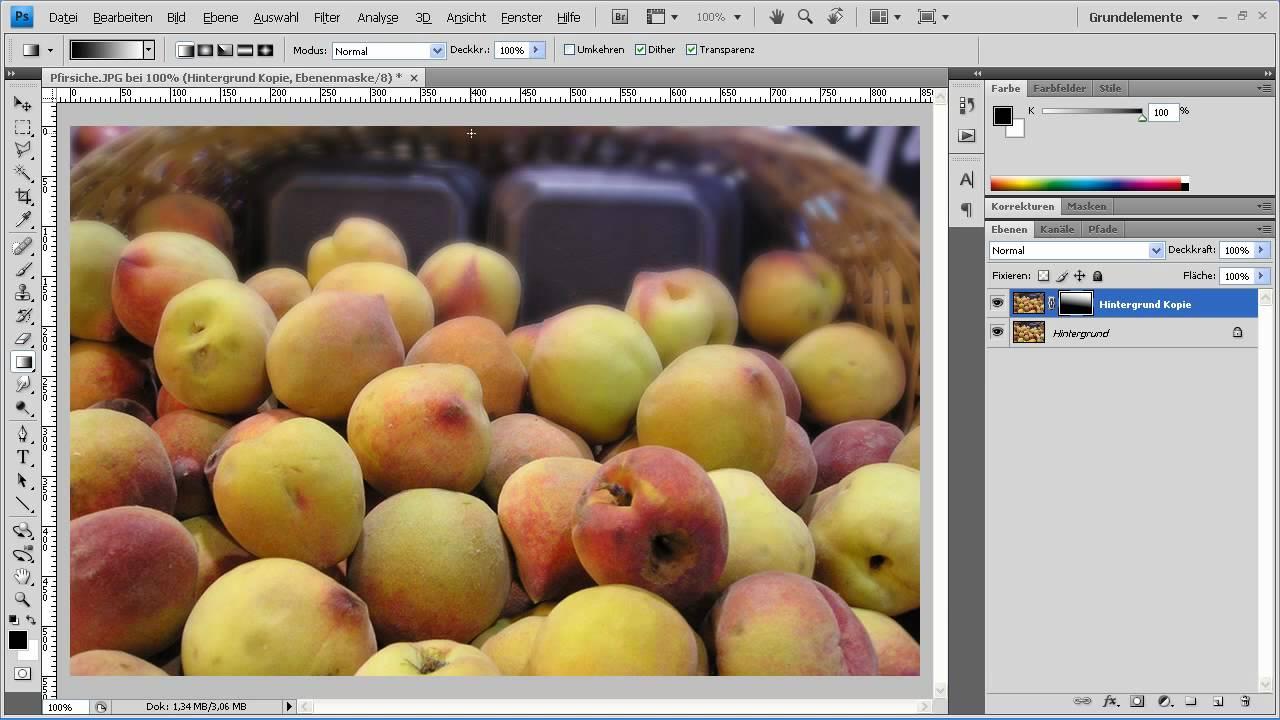 Photoshop CS4   Tiefenwirkung Durch Unschärfe Erzeugen