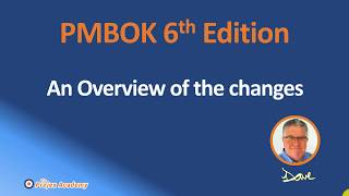 Changes to 2018 The PMBOK Guide 6th edition