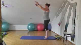 HappyBauch (9) - Pilates für Schwangere 2. und 3. Trimester  | KOMPLETTWORKOUT by Fitnessmutti