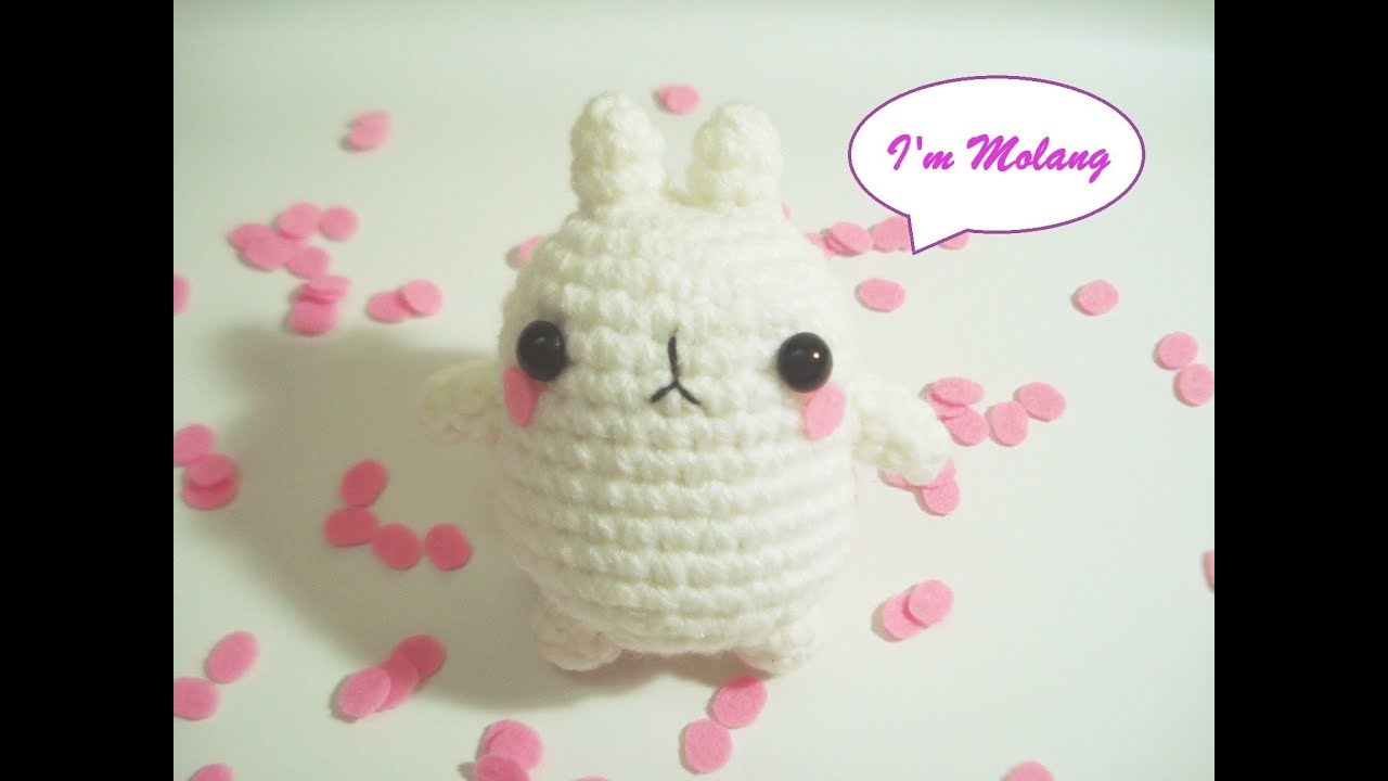 Free Kawaii Amigurumi Patterns : Crochet molang amigurumi free pattern youtube