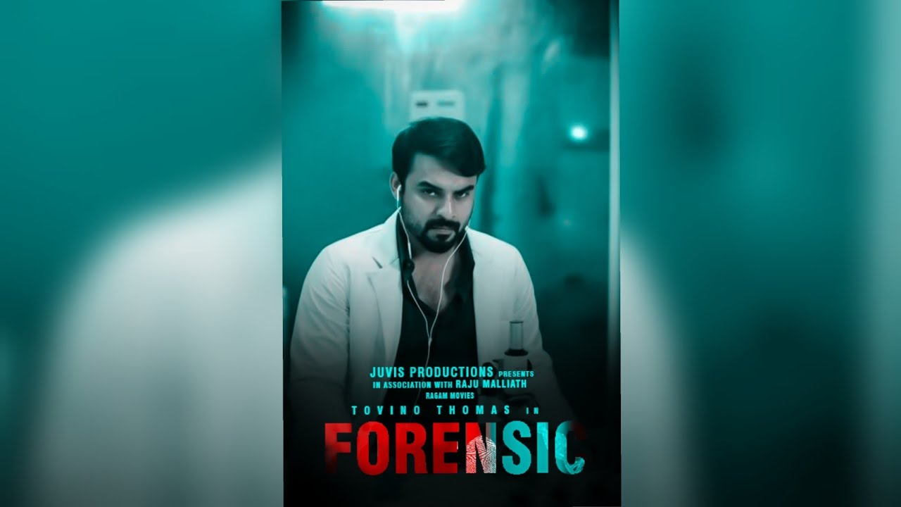 How To Make Forensic Movie Title And Poster Forensic Movie Title And Poster Thekkanz Media Youtube