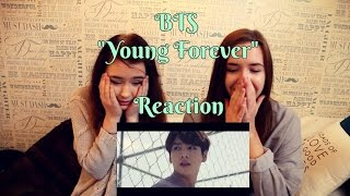 bts young forever mv reaction