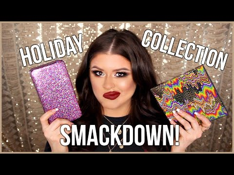 Holiday Makeup Collections 2018: Tarte vs Smashbox thumbnail