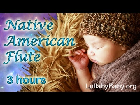 ☆ 3 HOURS ☆ NATIVE AMERICAN FLUTE ♫ Relaxing Flute Music ~ Peaceful Solo ~ Ba Sleep Music