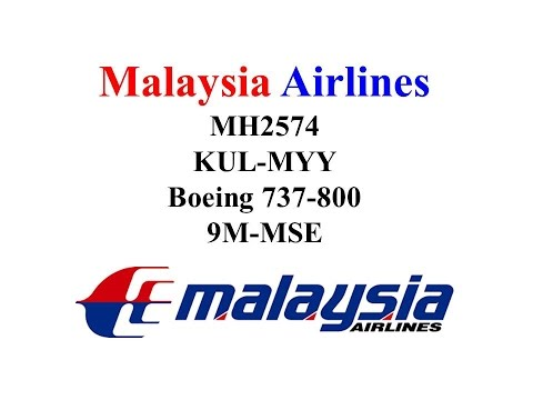 Malaysia Airlines Economy Class MH2574 Kuala Lumpur (KUL) - Miri (MYY)