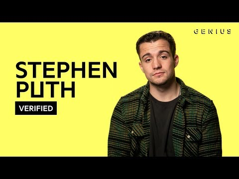 """Stephen Puth """"Sexual Vibe"""" Official Lyrics & Meaning 