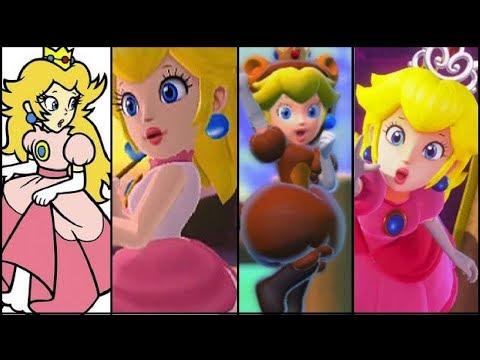 The Evolution of Princess Peach: Super Mario Series (1985-2017)