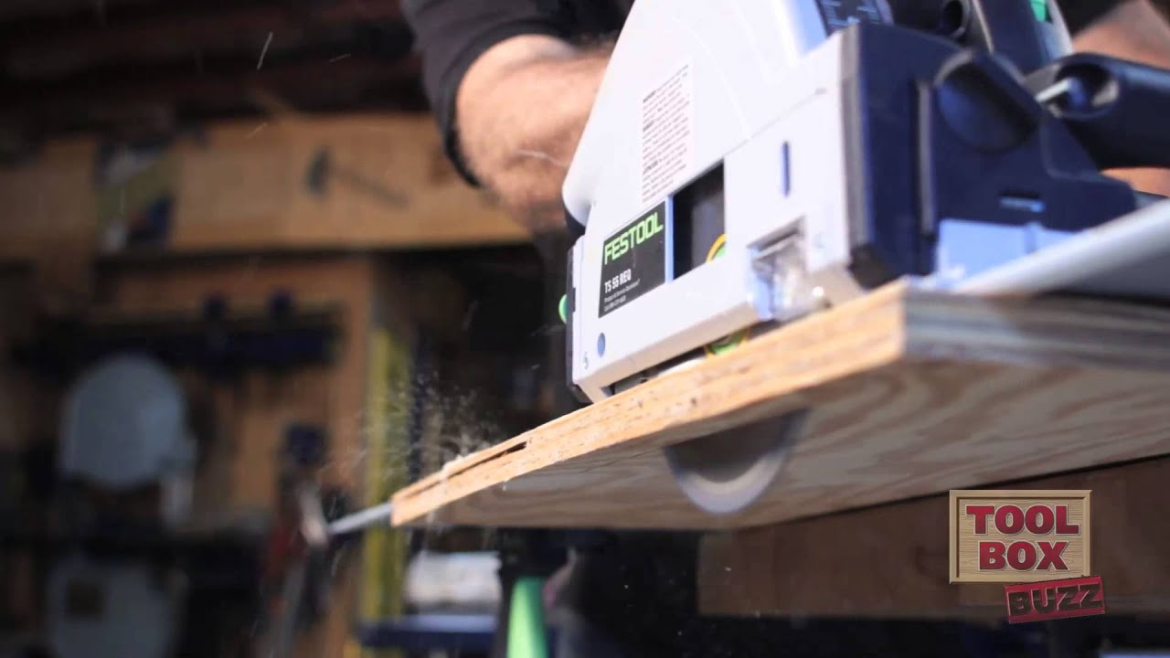 Festool TS55 REQ Track Saw | Review