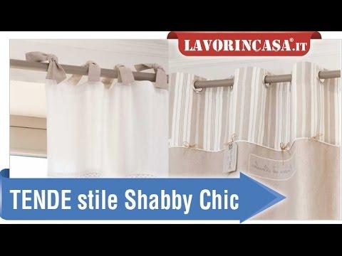 Tende in stile shabby chic youtube for Tende shabby chic on line