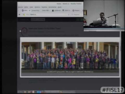 Fisl 17 - Redes socias livres e federadas como alternativas as redes privadas e espionadas