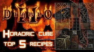Horadric Cube 5 Top Recipes - Diablo 2