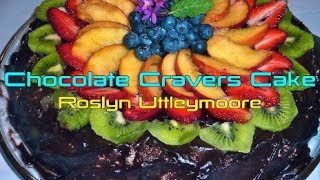 Chocolate Cravers Cake Raw Food Recipe