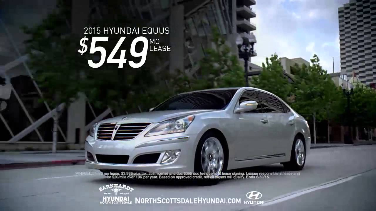 Earnhardt Hyundai North Scottsdale >> 2015 Hyundai Equus - Earnhardt Hyundai North Scottsdale - YouTube