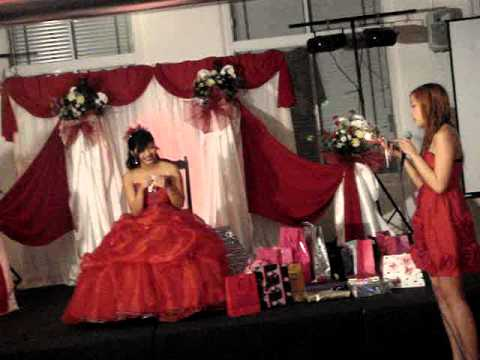 Berna's Hollywood theme Debut Party Jan 2011 - YouTube