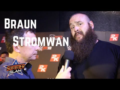 Braun Strowman on his Love of Chipotle, Ready for Big Opportunity at WWE SummerSlam 2017