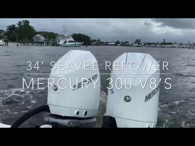 34' SeaVee Repower & Sea Trial