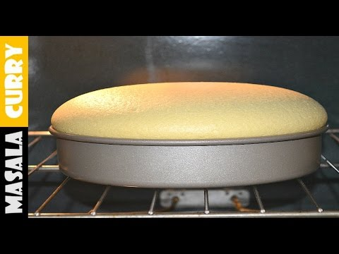 Vanilla Sponge Cake | Chiffon Cake Recipe | Simple Cake Recipe