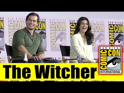 Netflix\'s THE WITCHER | Comic Con 2019 Full Panel (Henry Cavill, Freya Allan, Anya Chalotra)