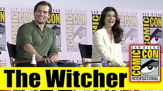 Netflix's THE WITCHER | Comic Con 2019 Full Panel (Henry Cavill, Freya Allan, Anya Chalotra)