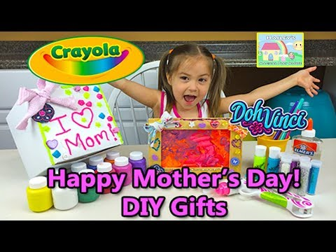 Crayola DIY Gifts Kids Can Make for Mother's Day, Birthdays