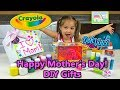 Crayola DIY Gifts Kids Can Make for Mother's Day, Birthdays & More Surprises Using PlayDoh DohVinci