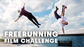 FREERUNNING AMSTERDAM: 100 hours to film a freerunning video.