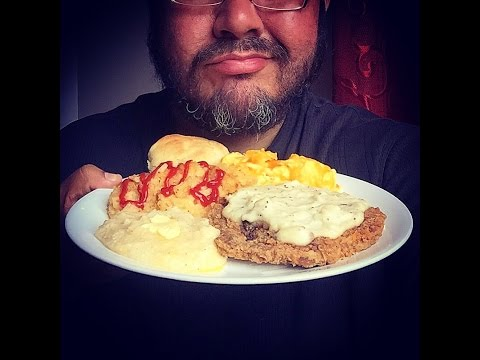 Asmr #438 Country Fried Steak!