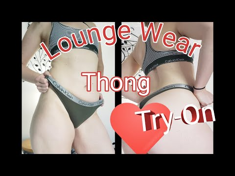 Calvin Klein Thong Try On Haul