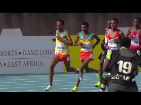 IAAF U18 Boys 3000 Metres Boys final Nairobi Kenya
