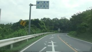 京都縦貫道全線開通記念車載動画 京都府縦断  兵庫県境から三重県境