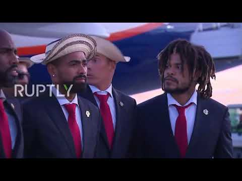 Russia: Panama football team arrives in Saransk ahead of WC