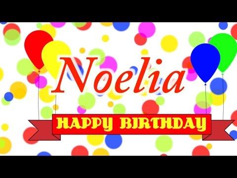 Happy Birthday Noelia Song